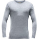 Devold Breeze - T-shirt manches longues Homme - gris